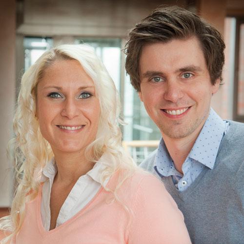 Steffi Wulf und Florian Bolsmann